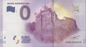 0 Euro Souvenir Schein Burg Kriebstein (1)
