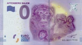 0 Euro Souvenir Schein Affenberg Salem II (1)