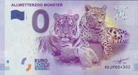 0 Euro Souvenir Schein Allwetterzoo Münster (1)