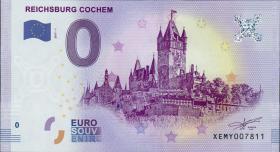 0 Euro Souvenir Schein Reichsburg Cochem (1)