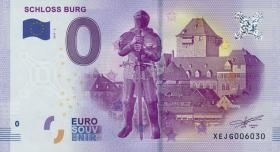 0 Euro Souvenir Schein Schloss Burg I (1)