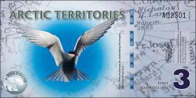 Arctic Territories 3 Dollars 2011 Polymer (1)