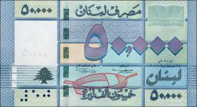 Libanon / Lebanon P.94 50000 Livres 2011 (1)