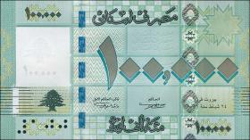 Libanon / Lebanon P.95 100.000 Livres 2011 (1)