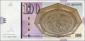 Mazedonien / Macedonia P.16i 100 Denari 2009 (1)