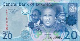 Lesotho P.22 20 Maloti (2010) (1)
