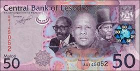 Lesotho P.23 50 Maloti (2010) (1)
