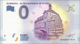 0 Euro Souvenir Schein Bamberg Altes Rathaus (1)