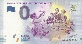 0 Euro Souvenir Schein Berliner Luftbrücke (1)
