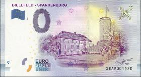 0 Euro Souvenir Schein Bielefeld-Sparrenburg (1)