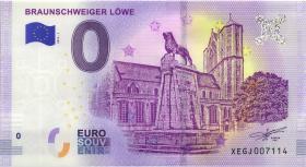 0 Euro Souvenir Schein Braunschweiger Löwe (1)