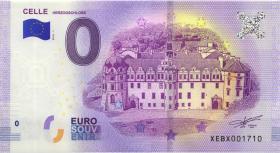 0 Euro Souvenir Schein Celle Herzogschloss (1)