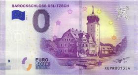 0 Euro Souvenir Schein Barockschloss Delitzsch (1)