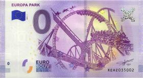 0 Euro Souvenir Schein Europa Park I (1)