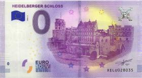 0 Euro Souvenir Heidelberger Schloss (1)