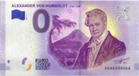 0 Euro Souvenir Schein Alexander von Humboldt (1)