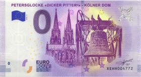 0 Euro Souvenir Schein Petersglocke Dicker Pitter (1)