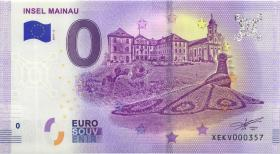 0 Euro Souvenir Schein Insel Mainau (1)