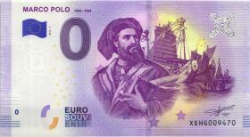 0 Euro Souvenir Schein Marco Polo (1)