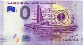 0 Euro Souvenir Schein Marine-Ehrenmal Laboe (1)