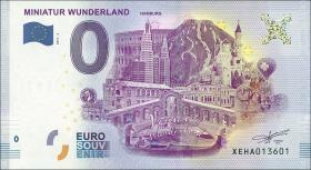 0 Euro Souvenir Schein Miniatur Wunderland III (1)