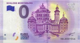 0 Euro Souvenir Schein Schloss Moritzburg (1)