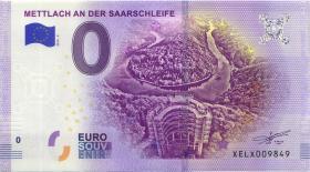 0 Euro Souvenir Schein Mettlach an der Saarschleife (1)