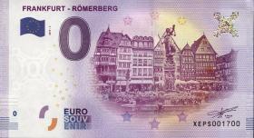 0 Euro Souvenir Schein Frankfurt Römerberg (1)