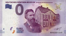 0 Euro Souvenir Schein Deutsches Röntgen Museum (1)