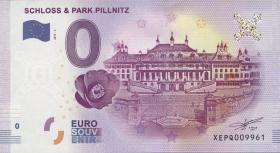 0 Euro Souvenir Schein Schloss & Park Pillnitz (1)