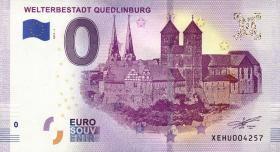 0 Euro Souvenir Schein Welterbestadt Quedlinburg (1)