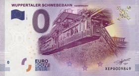 0 Euro Souvenir Schein Wuppertaler Schwebebahn (1)