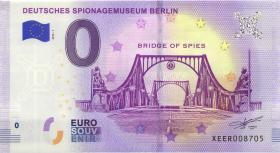 0 Euro Souvenir Schein Spionage Museum Berlin (1)