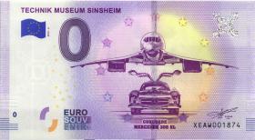 0 Euro Souvenir Schein Technik Museum Sinsheim II (1)