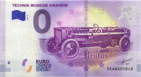 0 Euro Souvenir Schein Technik Museum Sinsheim (1)