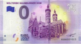 0 Euro Souvenir Schein Welterbe Naumburger Dom (1)