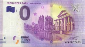 0 Euro Souvenir Schein Wörlitzer Park (1)