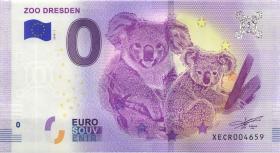 0 Euro Souvenir Schein Zoo Dresden (1)