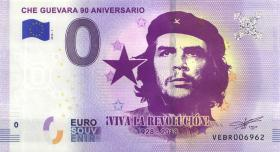 0 Euro Souvenir Schein Che Guevara 90. Geburtstag (1)