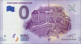0 Euro Souvenir Schein Festung Königstein (1)