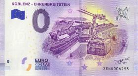0 Euro Souvenir Schein Koblenz - Ehrenbreitstein (1)