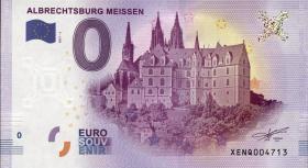 0 Euro Souvenir Schein Meissen - Albrechtsburg (1)