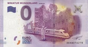 0 Euro Souvenir Schein Miniatur Wunderland - II (1)