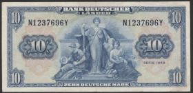 R.258 10 DM 1949 Bank Deutscher Länder (3+)
