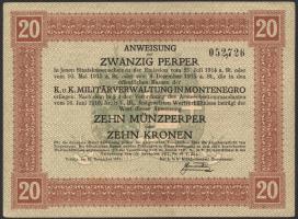 Montenegro P.M152 20 Perper 1917 (1/1-)