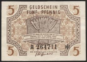 R.211: Rheinland-Pfalz 5 Pfennig 1947 (3)