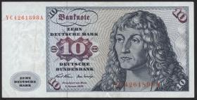 R.270c 10 DM 1970 YC Ersatznote (3)