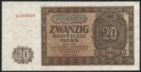 R.344a 20 DM 1948 Serie G (2)