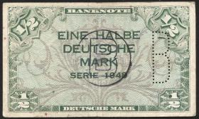 R.231c 1/2 DM 1948 B Perforation + Stempel (3)