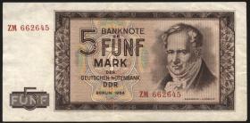 R.354b 5 Mark 1964 Ersatznote (3)